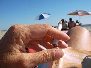 beach smoking ban
