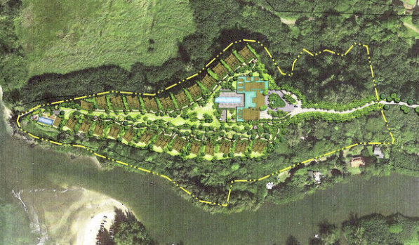 Rendering of the proposed Princeville Lodge. Courtesy The Garden Island Newspaper & Jeff Stone